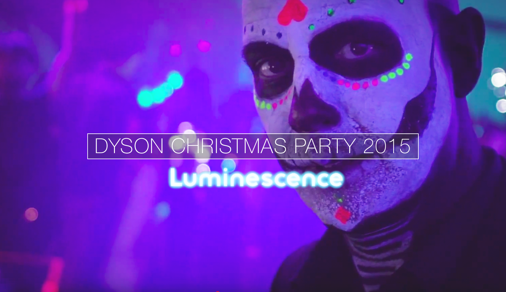 Dyson Christmas Party 'Luminescence' 2015