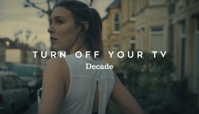 Decade. Turn off Your TV Music video