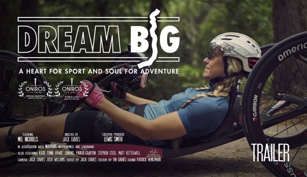 'Dream Big' Mel Nicholls World Record Challenge (TRAILER) Full film released end of December 19′