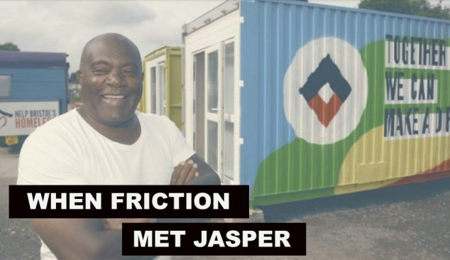 When Friction Collective met Jasper Thompson