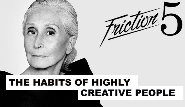 Friction Five: The Rituals of 5 Highly Creative People