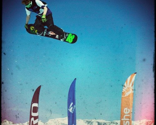 British Snowboard Championships Laax, Switzerland.